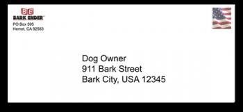 Bark Ender™ Letter